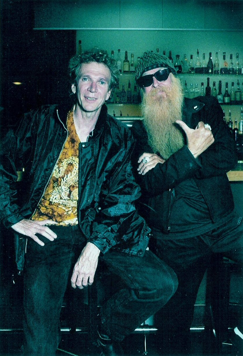 ruffnerandgibbons.jpg -  Mason and ZZ Top's Billy Gibbons  Oslo, Norway 2003  Photo by:  Gitte Johannessen